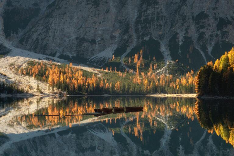 Lago di Braies Dolomity 14