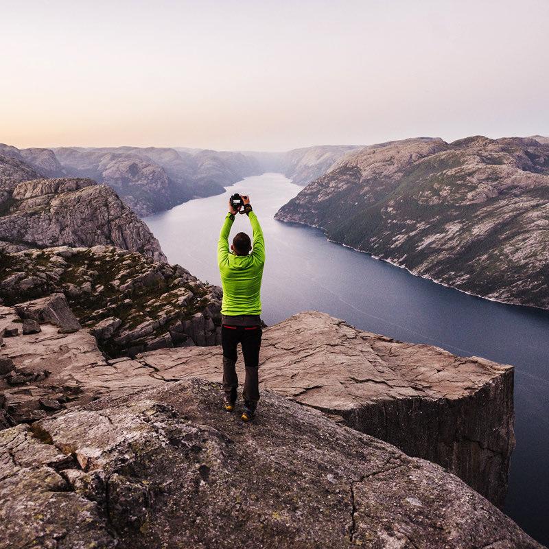 marcin kesek fotograf krajobrazu, fotografia krajobrazowa, krajobrazy norwegii, preikestolen