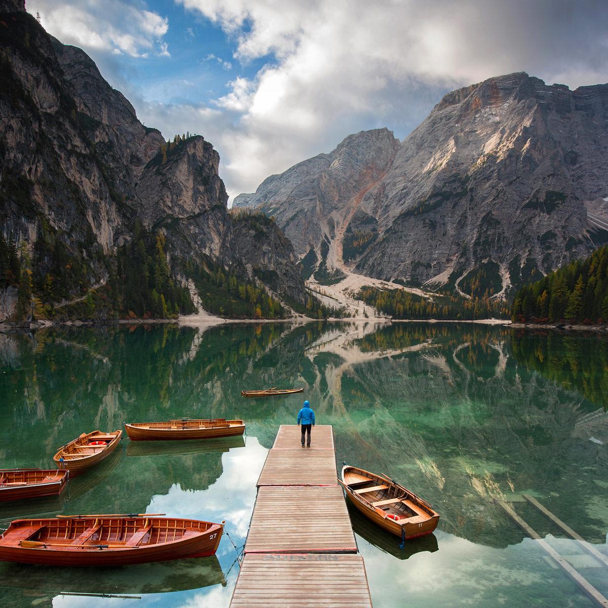 lago di braies, marcin kesek fotograf krajobrazu, fotografia krajobrazowa