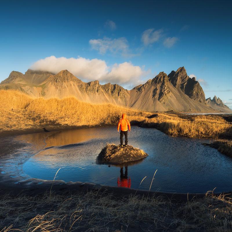 marcin kesek fotografia krajobrazowa, fotografia krajobrazowu, vestrahorn, stoskness, warsztaty fotograficzne islandia