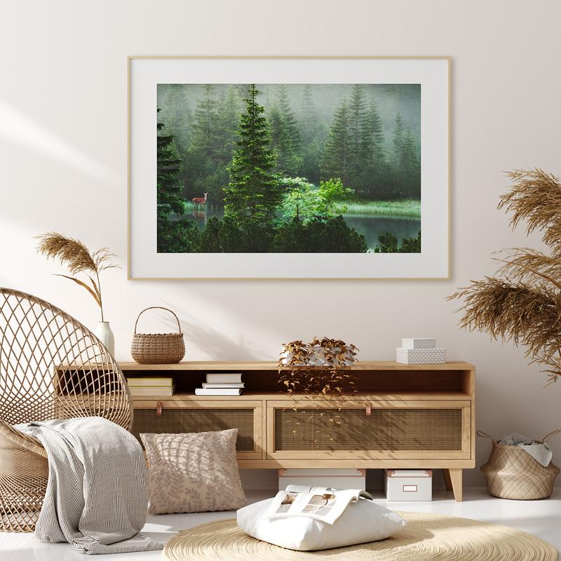 marcin kesek fotograf krajobrazu, wydruki krajobraz, fine art, wydruk na papierze, sarna wydruk
