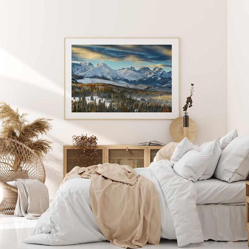 lapszanka zimowy krajobraz