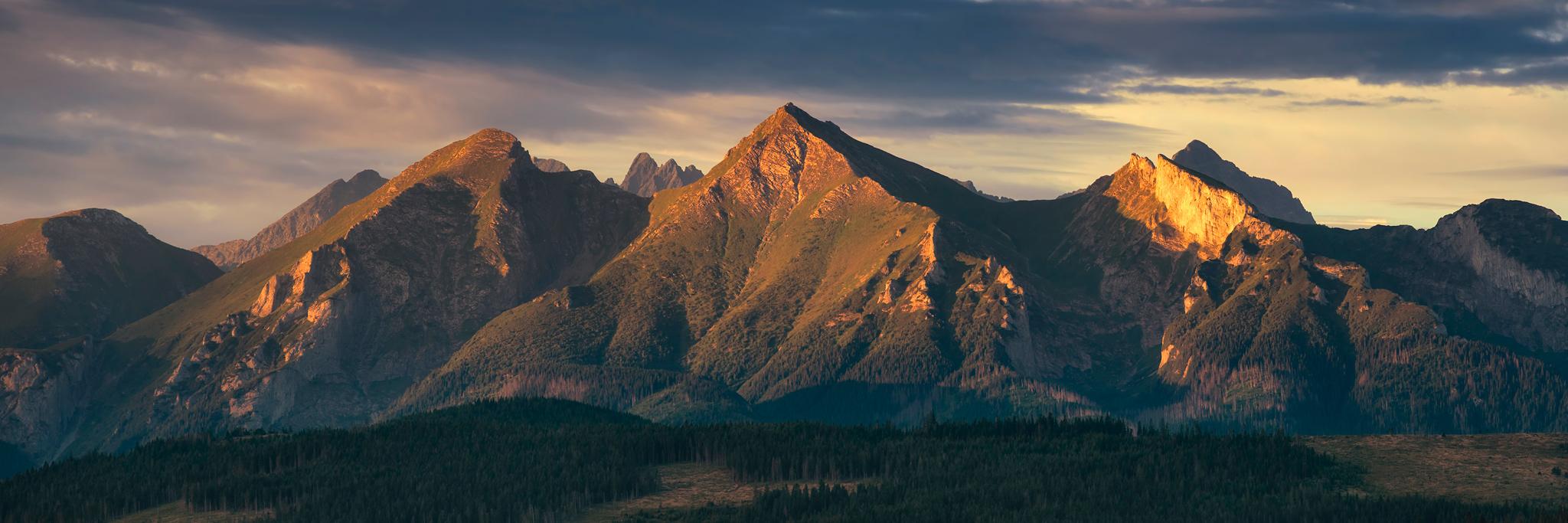 tatry bielskie, krajobraz górski do wydruku, tatry na zdjeciach, wydruk fotografii krajobrazowej, polskie pejzaże, marcin kęsek fotografia, murań, płaczliwa skała, hawrań, panoramy tatry